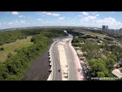 Filmagem Aérea Via Mangue Recife/PE