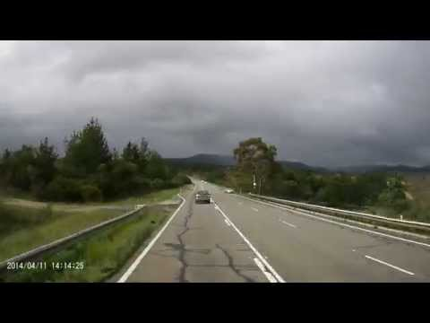 Bad Driver in NSW along great western highway between Bathurst NSW to Lithgow
