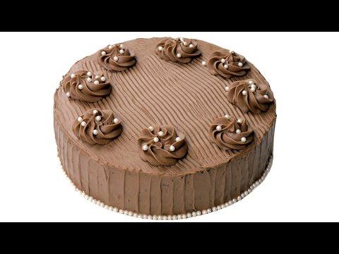 Торт Шоколадный бархат. Супер шоколадные коржи и нежный шоколадный крем.