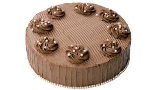 """Торт """"Шоколадный бархат"""". Супер шоколадные коржи и нежный шоколадный крем."""