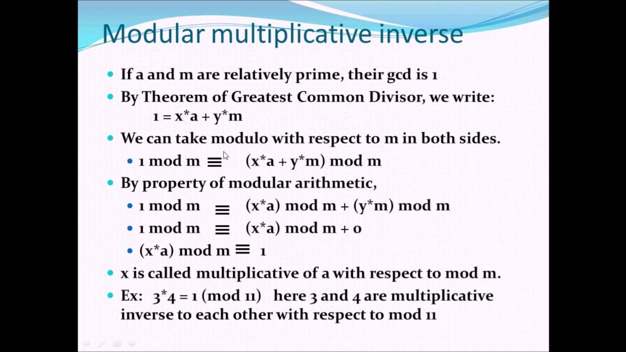 Mathematics Behind Asymmetric Cryptography And RSA Algorithm