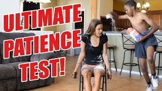 One of iMAV3RIQ's most viewed videos: ULTIMATE PATIENCE TEST! ft. @Mrs_iMav