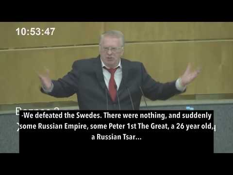 Top Russian Politician Zhirinovsky Brilliantly Exposes Western Propaganda Against Russia