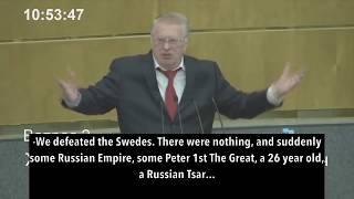 Top Russian Politician Zhirinovsky Brilliantly Exposes Western Propaganda Against Russia