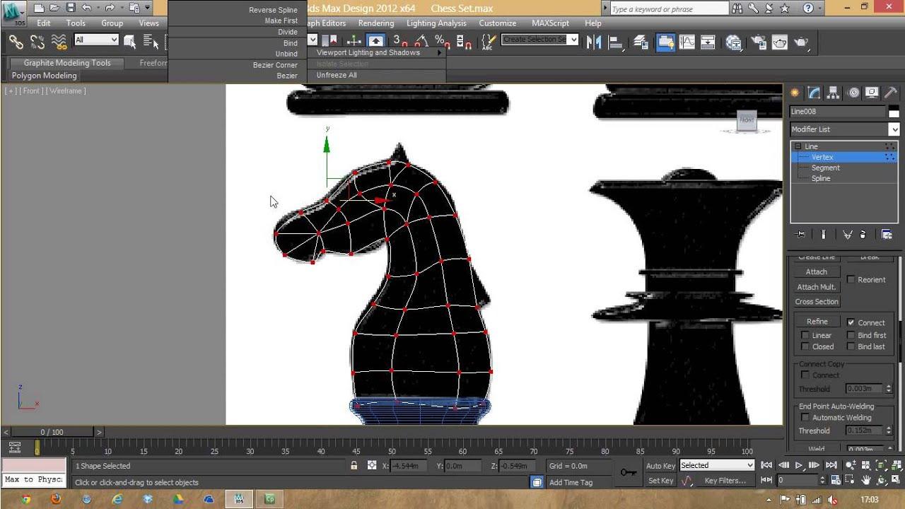 07 modelando un caballo en 3ds max youtube for Modelar habitacion 3d max