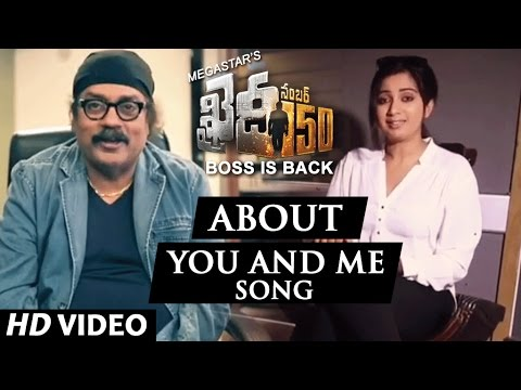 Shreya Ghoshal and Hariharan about You And Me Song || Khaidi No 150 || Rockstar DSP