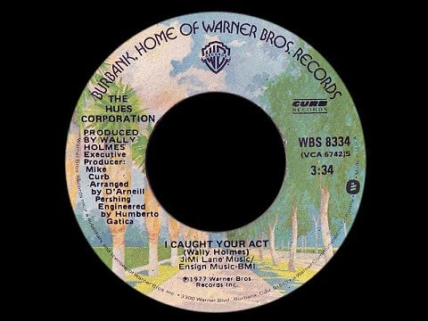 Hues Corporation ~ I Caught Your Act 1977 Disco Purrfection Version