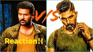 Prabhu Deva vs Allu Arjun | Dance | Reaction!