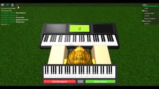 VIRTUAL PIANO | STRESSED OUT | ROBLOX