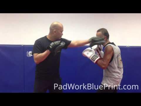 Boxing Counter Punching Mitt Drills Combo 29 MMA Drills & Techniques