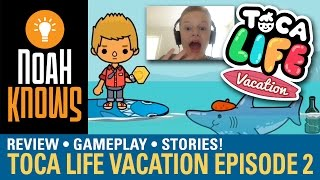 Toca Life: Vacation (Toca Boca) ★ Gameplay Episode 2 ★ The Jewel!