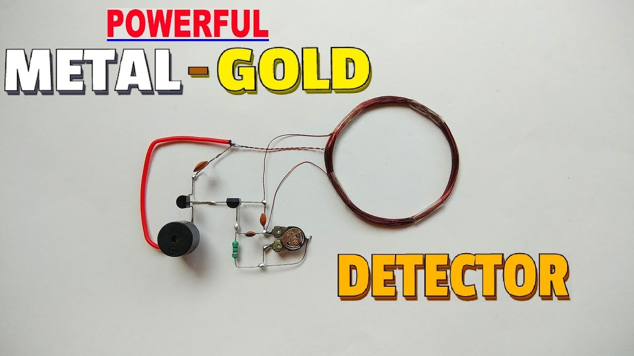Ful Metal Detector At Home Simple