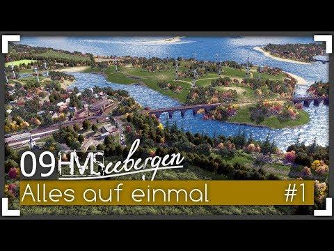 ALLES AUF EINMAL (PART I) - Seebergen Episode 09.1 | Let's Design Cities: Skylines
