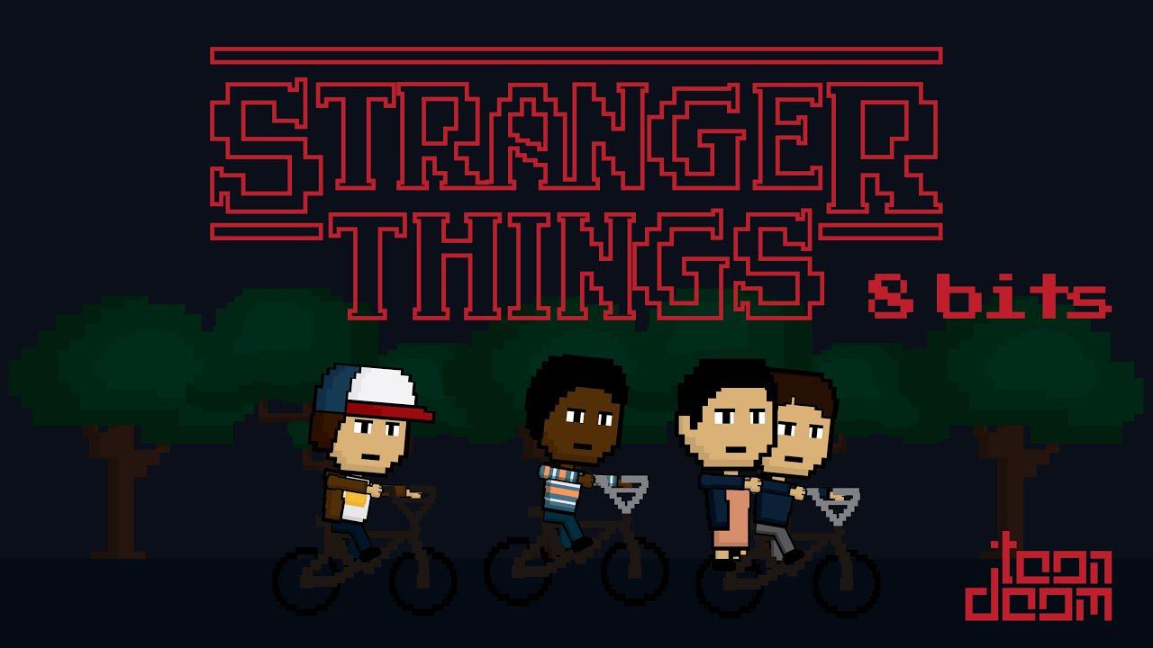 Gravity Falls Phone Wallpaper Hd Stranger Things 8 Bits Toon Doom Spoiler Alert Youtube