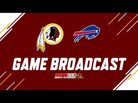 Redskins Radio Booth LIVE vs. Bills
