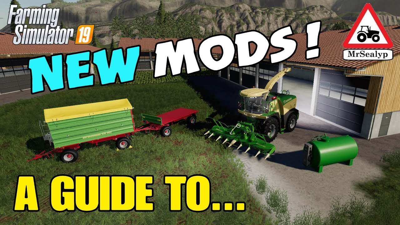 A Guide to    NEW MODS! Farming Simulator 19, PS4  Modhub, Assistance!