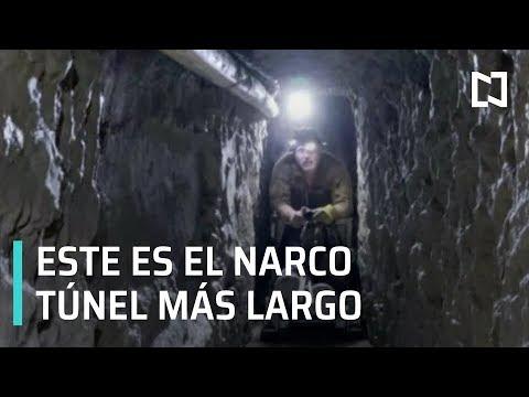 Narco túnel más largo en la historia - Las Noticias