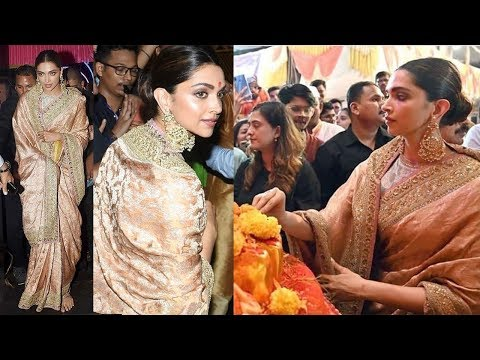 See Deepika Padukone At Lalbaug-Cha-Raja In Mumbai To Take Darshan & Seek Blessings From Lord Ganesh Mp3