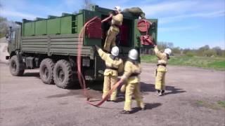 видео мобильные средства пожаротушения