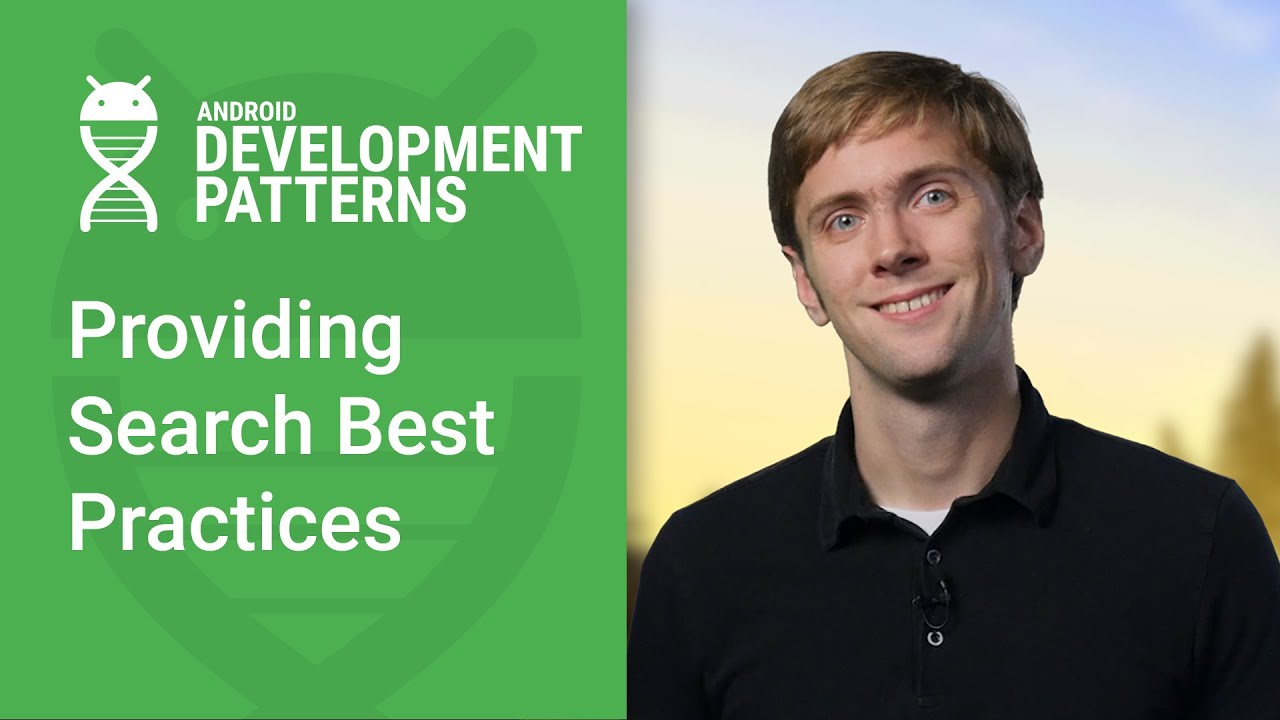 Providing Search with SearchView (Android Development Patterns Ep 7)