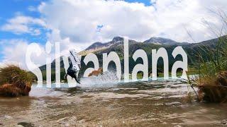 KITESURFING in the SWISS ALPS - FLYINGFLO(g) #6 - Lake Silvaplana