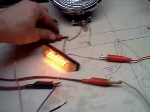 turn signal wiring - YouTube