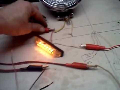 3 Pin Alternator Wiring Diagram Turn Signal Wiring Youtube