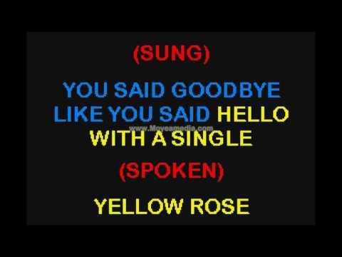 Dolly Parton   Yellow Roses SC HD Karaoke PK02502
