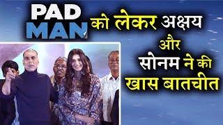 Akshay Kumar, Sonam Kapoor & R.Balki | Promote |Movie 'Padman'| Part 2 | Uncut
