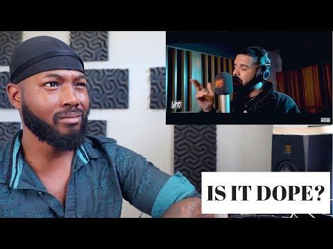 Drake - Behind Barz | Link Up TV | REACTION