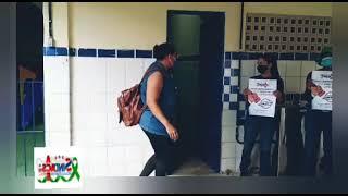 TV SINDACS PE - SINDACS PE em visita no P.A. no Colégio Potiguar