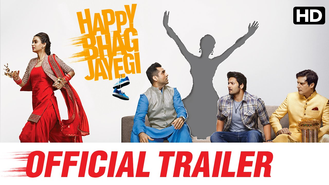 Happy Bhag Jayegi Official Trailer | Watch Full Movie On Eros Now