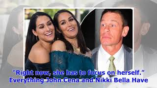 ∞John Cena and Nikki Bella Are Not Engaged Again, Haven't Discussed a Wedding