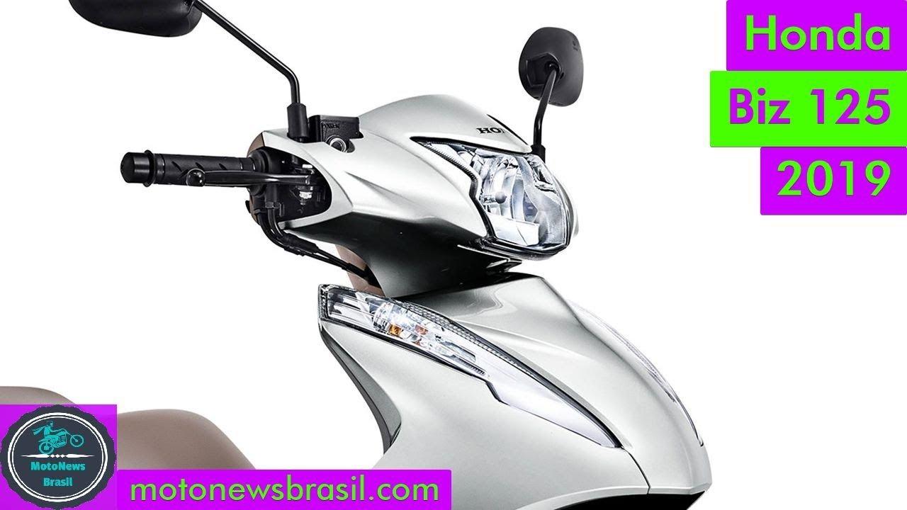 Nova Honda Biz 125 2019 Novas Cores E Grafismos