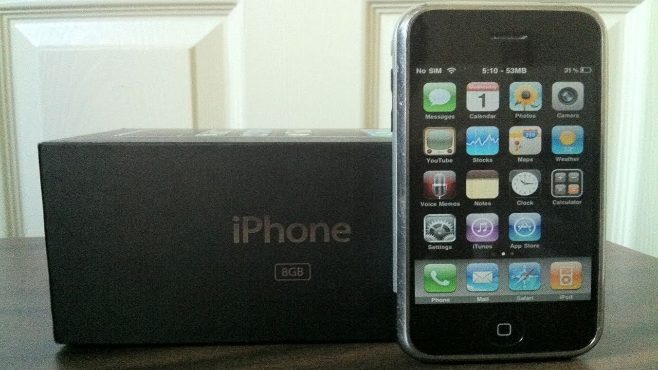 first gen iphone iphone 2g 1st 8gb unboxing hd 10600