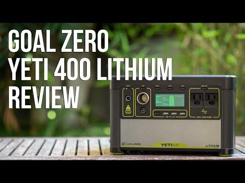 Goal Zero Yeti 400 Lithium - Review