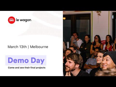 Coding Bootcamp Melbourne | Le Wagon Demo Day - Cohort #348