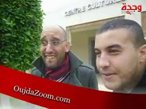 les comediens Youssef Hamdi & Tayeb - OujdaZoom