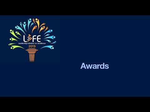 LIFE 2015: The Award Ceremony