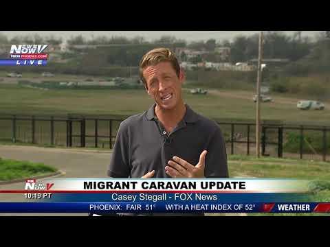 MIGRANT CARAVAN Update - Border Security IS Ready