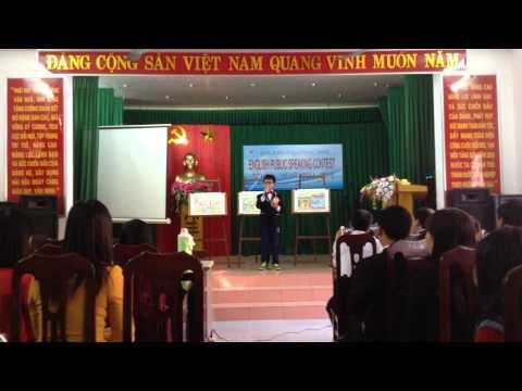 """Cuộc Thi """"Hùng Biện Tiếng Anh - Tiểu Học 2015 Huyện Hải Hậu Lần 3"""""""