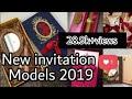 New wedding invitation models 2019||wedding card design ||wedding new cards||