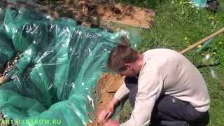 Как сделать пруд с карпами своими руками - 4. Делаем пруд!