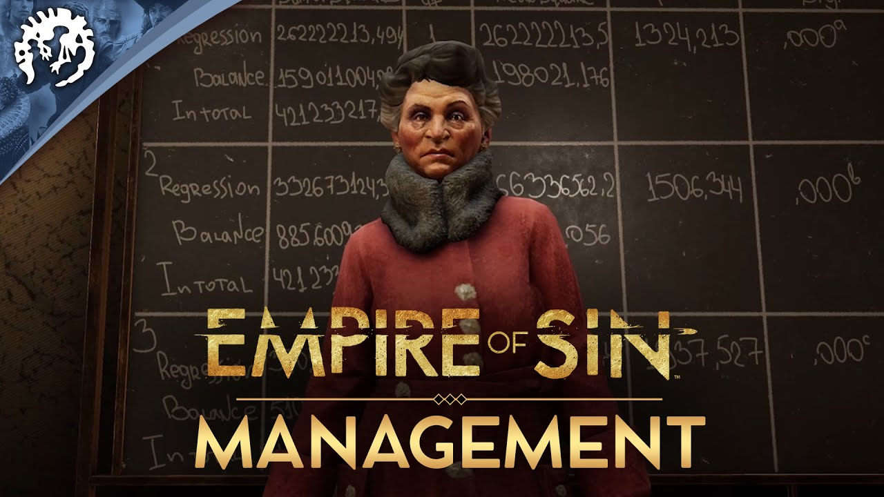 Empire of Sin | Game Pillars | Management