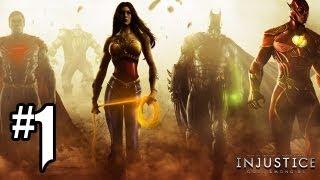 Injustice Gods Among Us Gameplay Walkthrough Part 1 - Chapter 1: BATMAN (Injustice Gameplay HD)