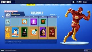 'NEW' SUPERHERO SKINS à Fortnite: Battle Royale! (SAISON 4 FUITES)