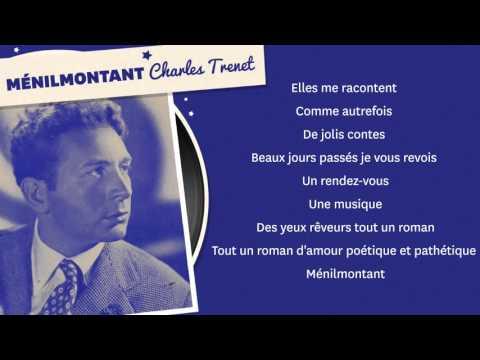 MENILMONTANT CHARLES TRENET