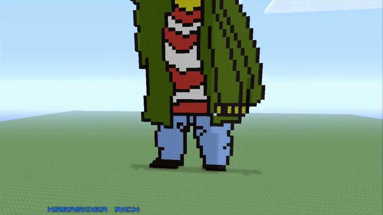 Ed Out Of Ed Edd N Eddy Pixel Art Minecraft Xbox
