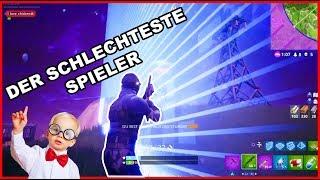 DER SCHLECHTESTE SPIELER SPIELT WIEDER FORTNITE !!11ELF