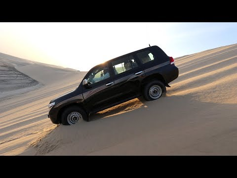 FEASTING on QATARI LAMB in Souq Waqif + Epic Sand DUNE BASHING | Doha, Qatar